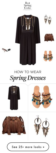 """Untitled #25"" by palak-obhan on Polyvore featuring Étoile Isabel Marant, Maiden-Art, Elina Linardaki, Diane Von Furstenberg and H&M"