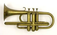 Serpentine cornopean in B♭(Robinson & Bussell, ca 1850)