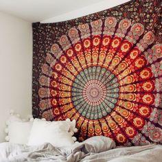 Savannah Rose Mandala Tapestry