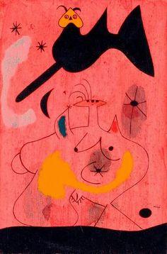 Joan Mirò: L'oiseau nocturne, 1939