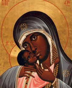 New Icon Depicts Black Mary as 'Our Lady Mother of ...