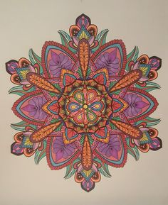 ColorIt Mandalas Volume 2 Colorist: Kathy Gibbs #adultcoloring #coloringforadults #mandalas #mandalastocolor Mandala Book, Mandala Art, Fractal Art, Fractals, Art Illustrations, Illustration Art, Adult Coloring, Coloring Books, Watercolor Mandala