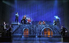 """Lovely roof set.  """"Mary Poppins: The Musical,"""" presented by Broadway in Tucson #MaryPoppins #Set"""