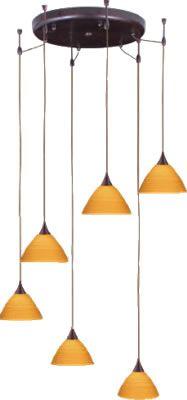 besa canopy in bronze metal finish with six pendants in oak domi glass with skyhook suspension hooks u0026 modern multiple pendants brand