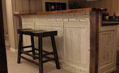 """""""Wormy Bar""""- Rescued Workbench"""