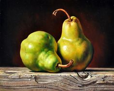 http://amsterdamfineart.com/Our%20Artists/Selytin/Selytin%20Image%20File/Selytin-Pears-8x10.jpg Veggie Art, Still Life Fruit, Still Life Photos, Painting & Drawing, Watercolor Paintings, Art Pictures, Vegetable Painting, Fruit Photography, Fruit Painting