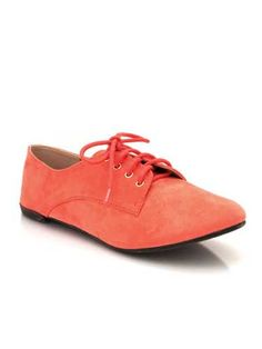 Update classic oxfords with a fun color! #prep