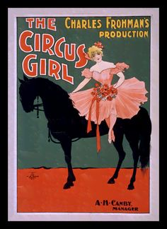 Quadro Poster Cinema The Circus Girl - Decor10