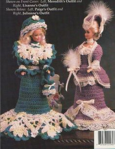 AA.Victorian Fashion Dolls - D Simonetti - Picasa Web Albums