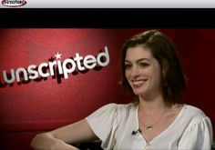 Anne Hathaway wears a Garland Collection Signature pendant.