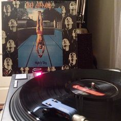 Yep one of those nights #1981 #defleppard #highanddry #vinyl #records #vinylrecords #lps #greatmusic #nowspinning #wax #turntable #vintage #vintageaudio #audio #stereo #rockandroll #classic  #kenwood #audiophile #180gram #vinyl-collection #music #33rpm  #fuzz #audiophile #nowspinning #technics #sl1200 #grado #pioneer #sansui #masterdisc by tdhaire