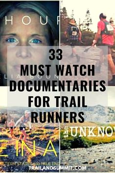 We've compiled our favorite trail running documentaries all in one place. They are all free and can be viewed right now via Youtube or Vimeo below. These are perfect for when you are sick or injured or just need a bit of extra motivation to keep up those miles week in and week out. No matter what your reason, we know you'll find something inspiring! #trailrunning #documentaries #trails #running #runners #trailrun