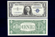 The last of the Silver Certificate series were printed with the date 1957. These crisp uncirculated notes never made into the hands of the circulating public. When silver certificates were printed it was important for the treasury to keep track of how many notes were being printed into circulation. When a batch of defective notes was discovered the star notes were used to replace the damaged notes that could not be used.