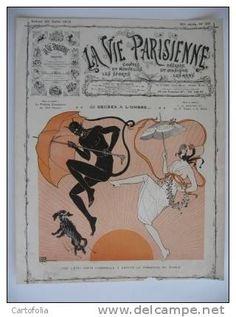 Georges Léonnec (1881 – 1940). La Vie Parisienne, 20 Juillet 1912. [Pinned 22-vii-2015]
