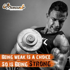 Weak or Strong! Its your choice!  https://www.facebook.com/photo.php?fbid=636622049714920