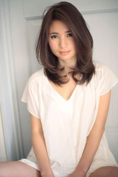 Medium Layered Haircuts for Thin Hair - Thin Hair Cuts Medium Length Hair With Layers, Medium Hair Cuts, Medium Hair Styles, Short Hair Styles, Asian Hair Medium Length, Layers For Short Hair, Hairstyle For Medium Length Hair, Blonde Layers, Haircut Medium