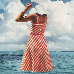 Awesome Future Islands album cover - weird take on old fashioned. Super cool.