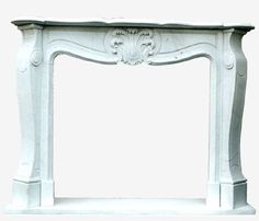 Caminetto in marmo bianco di Carrara con ornato scolpito a mano che richiama lo stile francese più raffinato nella sua semplicità.Per questo motivo è facile da inserire in ambienti differenti, sia ricercati che semplici. Le misure sono adattabili in base alle esigenze del cliente.