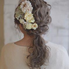 大坂のカリスマ美容師ヒロタテツヤさんのヘアアレンジが可愛い | marry[マリー]