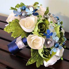 Night in the Garden Bridal Bouquet