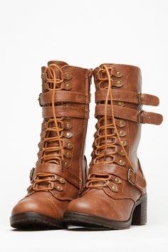 Chunky Mid Calf Boots