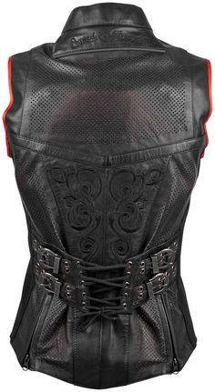Speed  Strength Moto Lisa Womens Leather Vest
