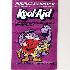 Purplesaurus Rex-Damn this used to be good!