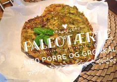 Paleolivet: Porre og grønkåls paleotærte med øko-kødbund