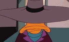 "Negaduck posing as Darkwing Duck in S.H.U.S.H. in ""Just Us Justice Ducks"""