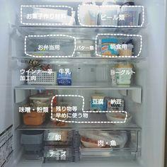 112 kayoさんの、キッチン,冷蔵庫,100均,シンプルライフ,定点観測,のお部屋写真