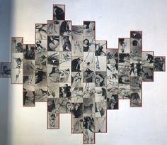 Annette Messager / accrochage / présentation / exposition / envahissement de l'espace par des dessins