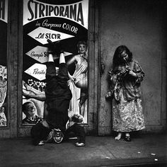 Striporama street scene by Vivian Maier, c 1953. See the Exposure column at Design Observer. http://designobserver.com/feature/exposure-striporama-street-scene-by-vivian-maier/38728/