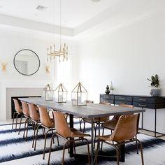 Trendy dining room d