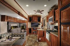 2015 Forest River Wildcat 312QBX Living Area