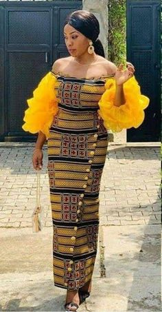 Latest African Fashion Dresses, African Print Dresses, African Dresses For Women, African Print Fashion, African Wear, African Attire, African Women, African Lace, Ankara Gown Styles