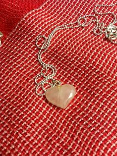 Lavender Jade Heart Necklace - Wear this to your next wedding.
