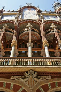 Barcelona - Palau de la Música Catalana, SPAIN.   (by jaime.silva, via Flickr)