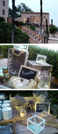 buffet rissotto, buffet huevos rotos, aspic catering, can mora de dalt.