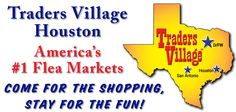 Traders Village 7979 N. Eldridge Rd. Houston, TX 77041 (281) 890-5500 Market Hours Open Saturday & Sunday Best Shopping Times  10 a.m. - 5 p.m. Parking $4 Vendor Gates Open 7 a.m.  281-890-5500 Sorry No Pets or Firearms Allowed