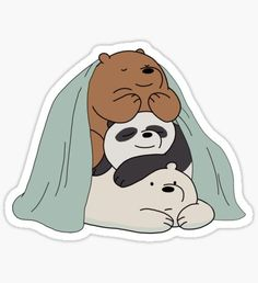 Official We Bare Bears fan art featuring your favorite characters. Stickers Cool, Stickers Kawaii, Cute Laptop Stickers, Meme Stickers, Cartoon Stickers, Tumblr Stickers, Printable Stickers, Preppy Stickers, We Bare Bears Wallpapers