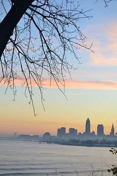 Downtown Cleveland, Ohio, USA.