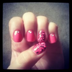 Cheetah nail