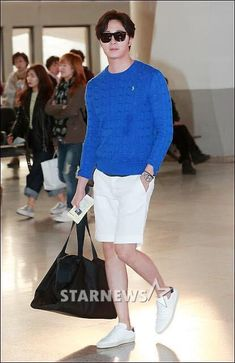 Jung Il Woo, White Jeans, Sporty, Pants, Style, Fashion, Log Projects, Trouser Pants, Swag