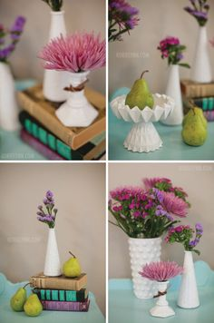 DIY milk glass!