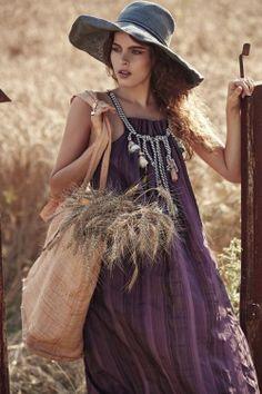 #bohemian ☮k☮ #boho #bag #hat