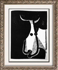 Pablo Picasso Art For Sale  Bull's Head c. 1948 Fine Art Print from Museum Artist