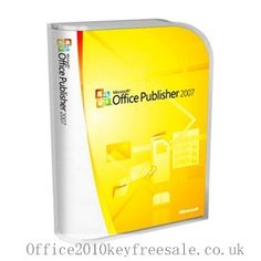 http://www.office2010keyfreesale.co.uk/purchase-office-publisher-2007-license-key.html Cheap Office Publisher 2007 License Key