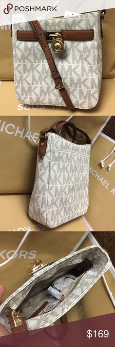 Michael Kors Purse 100% Authentic Michael Kors Purse Crossbody, brand new with tag!.color Vanilla. Michael Kors Bags Crossbody Bags