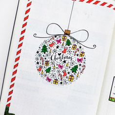 I'm working on my December bullet journal set up right now. Here are some Christmas themed bullet journal ideas I found for inspiration! Will be posting my own December bujo . Bullet Journal Mise En Page, December Bullet Journal, Bullet Journal Set Up, Bullet Journal Inspiration, Journal Ideas, Bullet Journals, Christmas Doodles, Christmas Drawing, Christmas Crafts