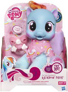 friendship is magic so soft pony newborn rainbow dash